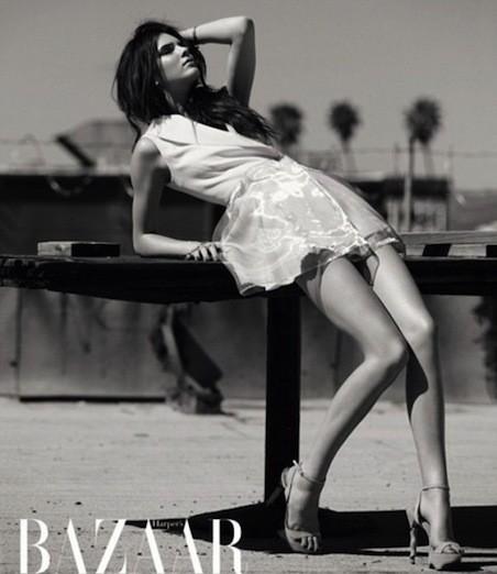 Kendall Jenner Harper's Bazaar Arabia Pose