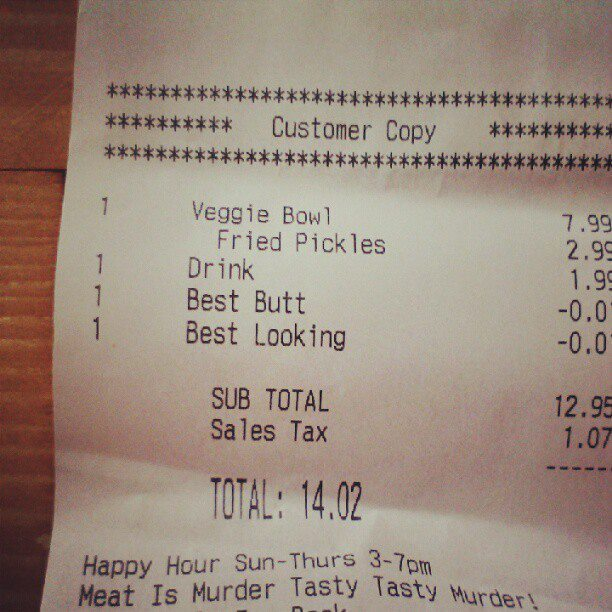 Best Butt Discount: Woman Receives Surprising Credit on Fast Food Receipt