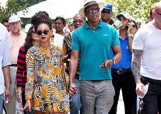 Beyonce, Jay-Z in Cuba