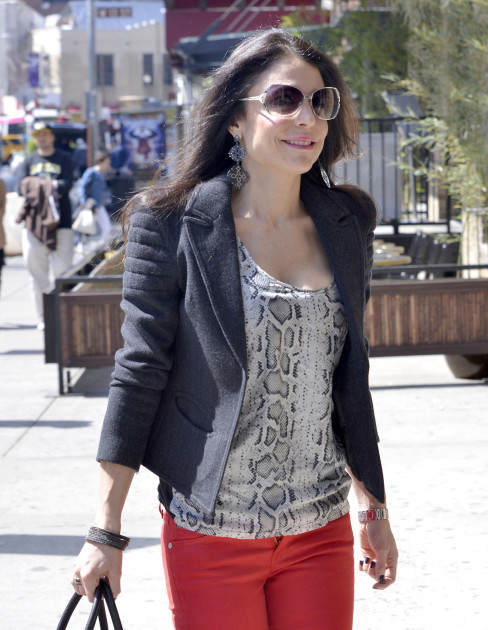 Bethenny on the Street