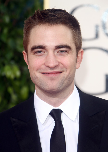 Robert Pattinson Smirking
