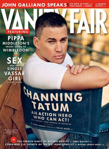 Channing Tatum Vanity Fair Cover