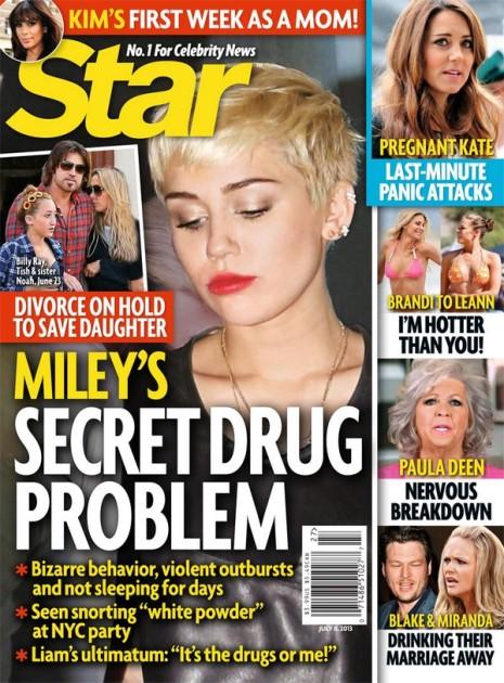 Miley Cyrus Drug Problem?