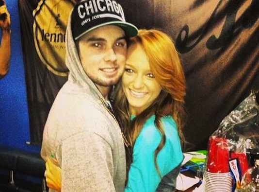 Maci Bookout and Taylor McKinney