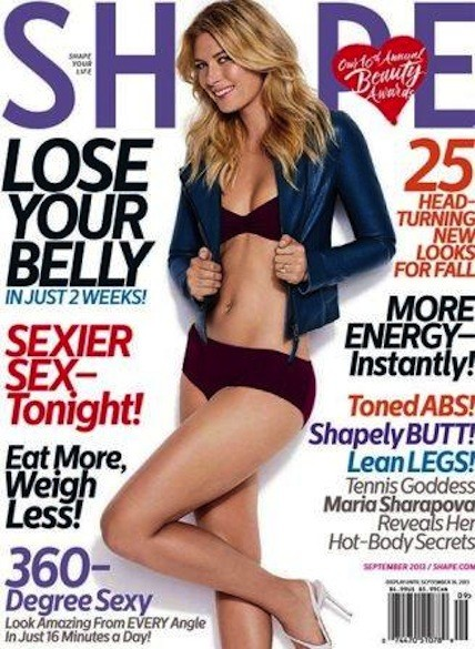 Maria Sharapova Shape Cover