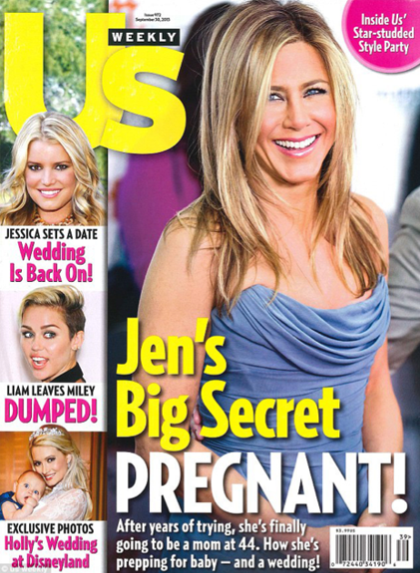 Jennifer Aniston's Pregnant (Not)