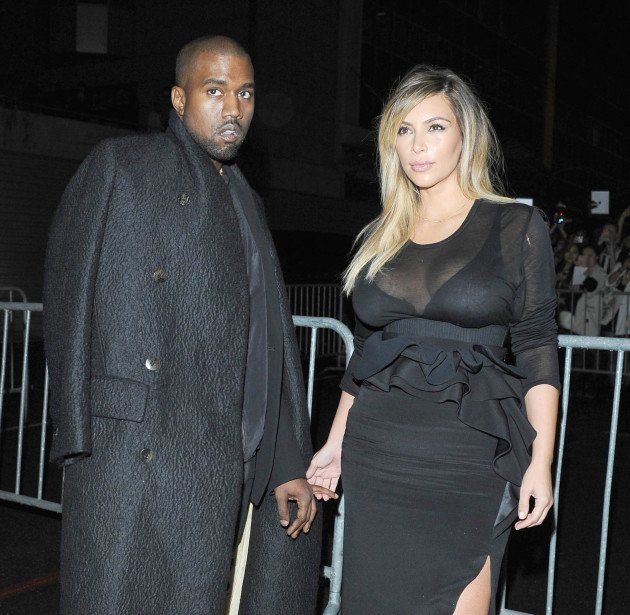 Kim and Kanye Abroad