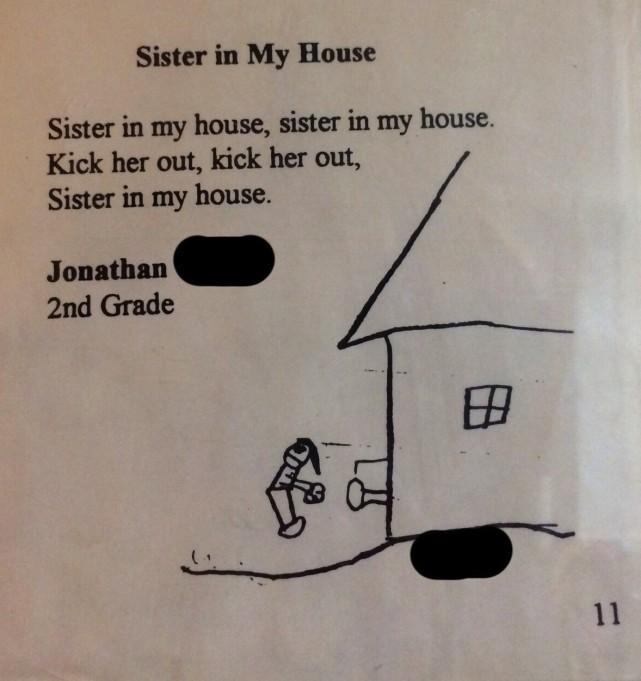 Kid Poem About Sister