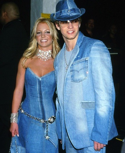 Justin Timberlake and Britney Spears. Together.