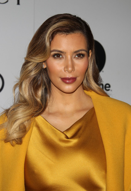 Kim Kardashian in Gold