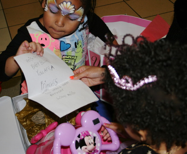 Blue Ivy Birthday Card