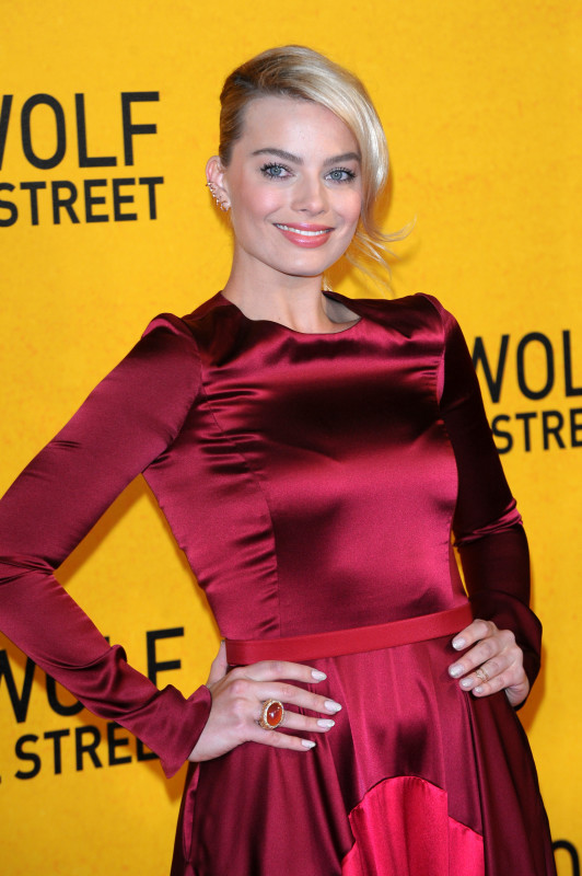 Margot Robbie at Wolf of Wall Street Premiere