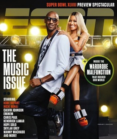 Nicki Minaj & Kobe ESPN Photoshop Fail