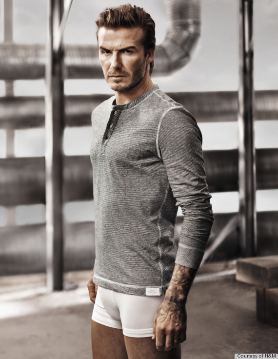 David Beckham: No Pants!