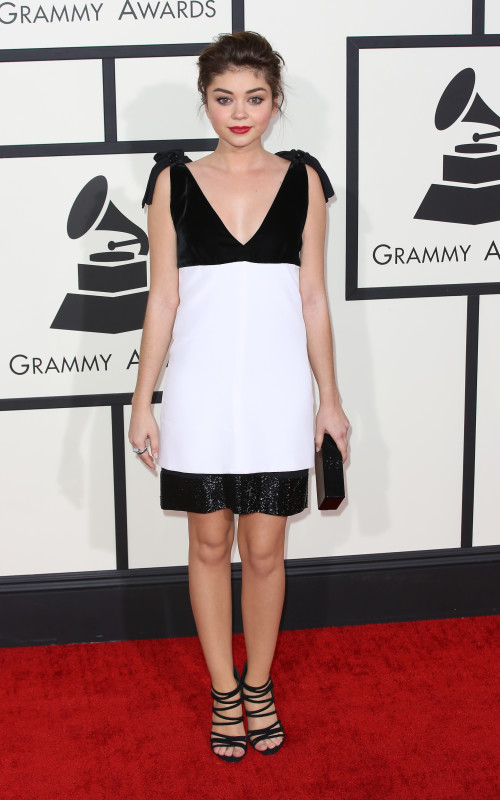 Sarah Hyland at the Grammys