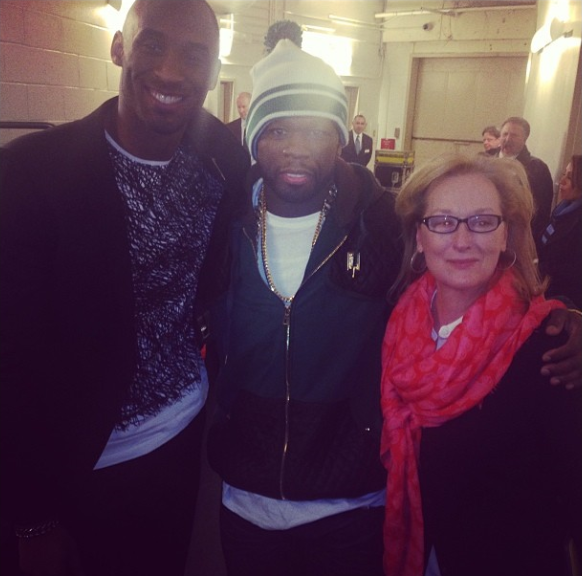 Meryl, Fiddy and Kobe
