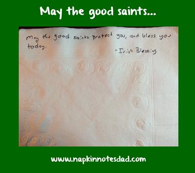 May the Good Saints ...