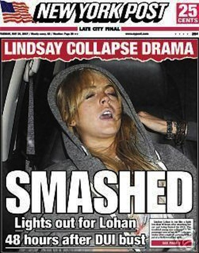 Lindsay Lohan: Smashed