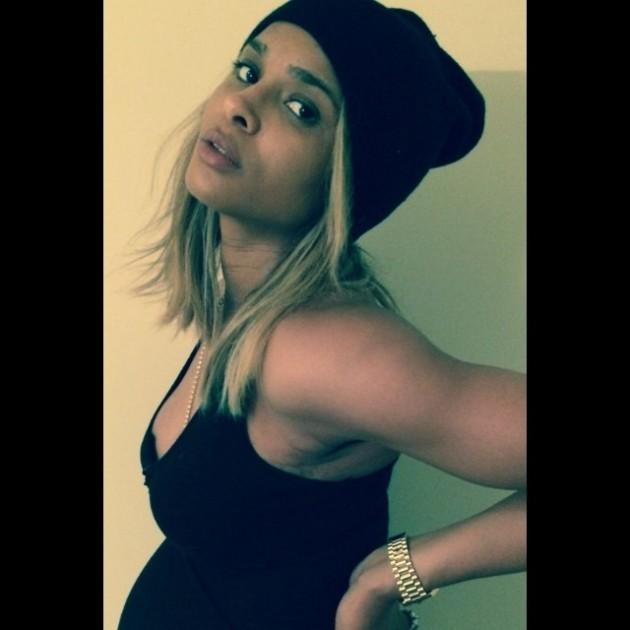 Ciara Baby Bump