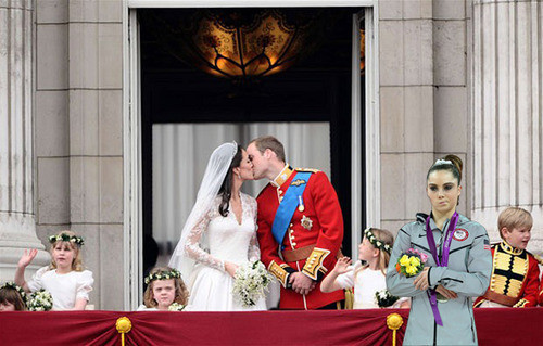McKayla Maroney at the Royal Wedding