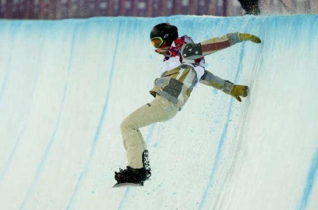 Shaun White Fall at Olympics