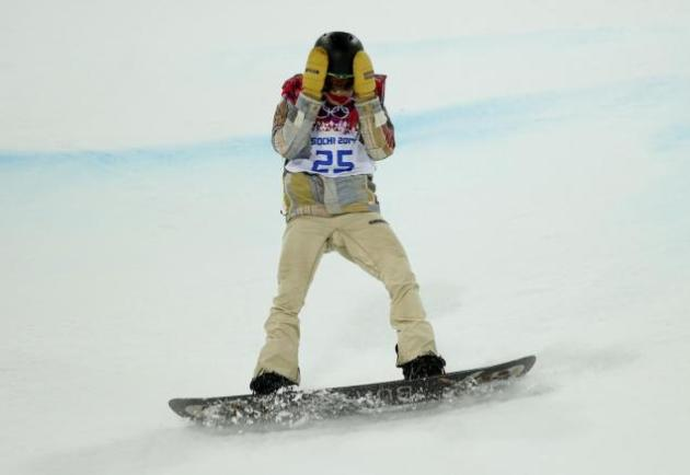 Shaun White Loses at Olympics