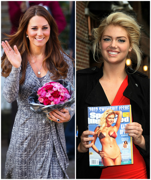 Kate Middleton & Kate Upton (Tie)