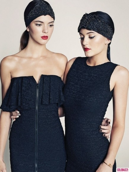 Kendall Jenner and Kylie Jenner Magazine Pic
