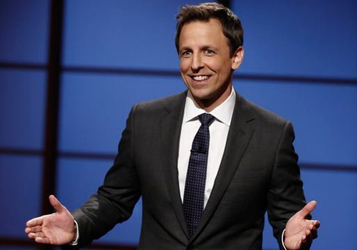 Seth Meyers Monologue Pic
