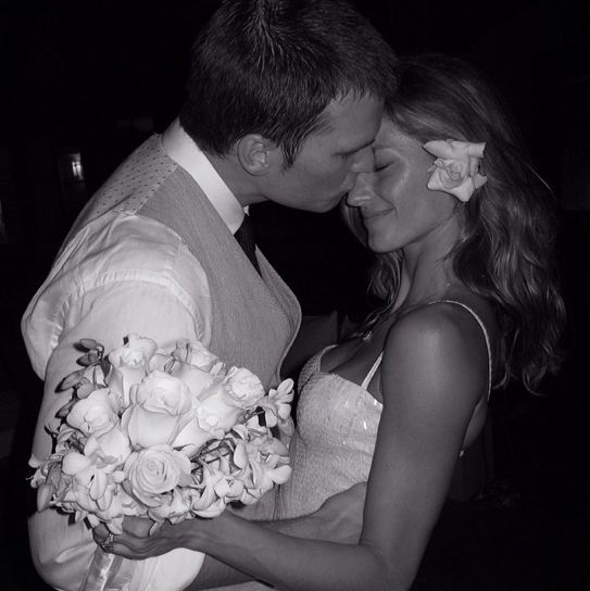 Tom Brady and Gisele: So in Love!