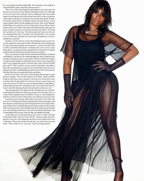 Jennifer Hudson for V