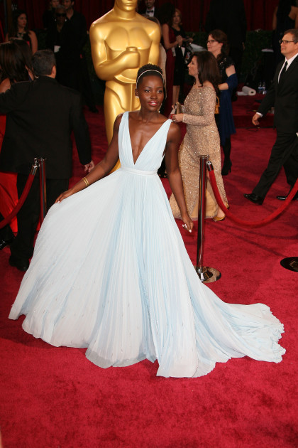 Lupita Nyong'o at the Oscars