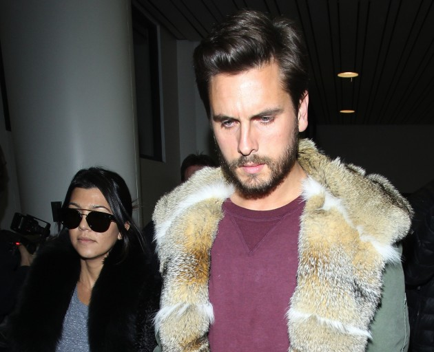 Scott Disick and Kourtney Kardashian Picture