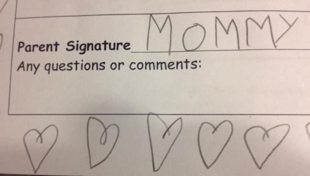 Mommy Signature