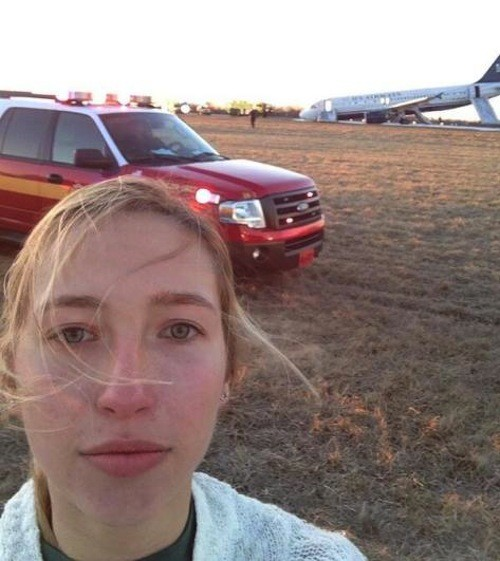 Philadelphia Plane Crash Passenger Shares Selfie from Crash Site