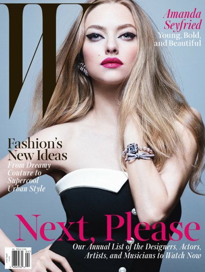 Amanda Seyfried W Cover