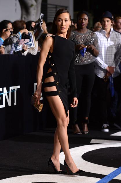 Maggie Q, No Underwear!