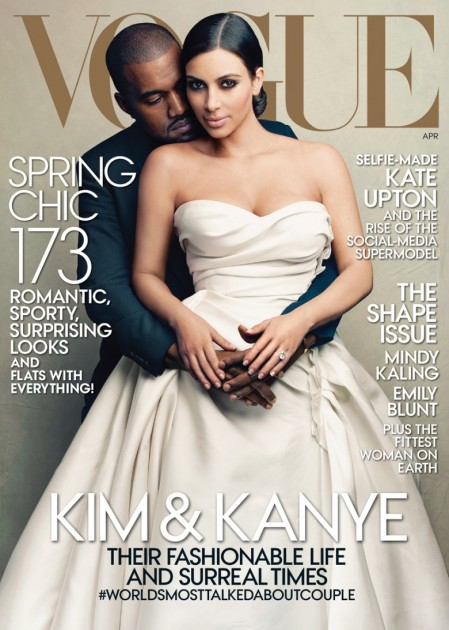 Kim Kardashian Vogue Cover