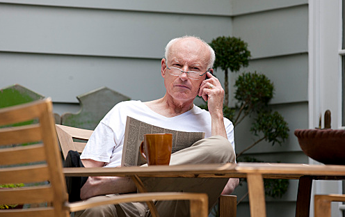 James Rebhorn On Homeland