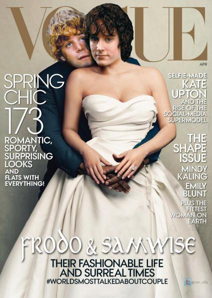 Lord of the Rings Vogue Cover