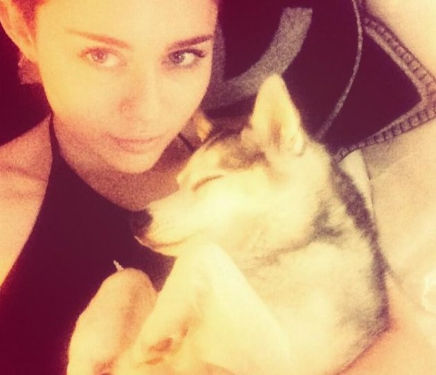 Miley Cyrus and Floyd