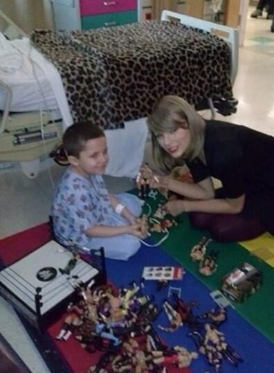 Taylor Swift at Hasbro Children's Hospital