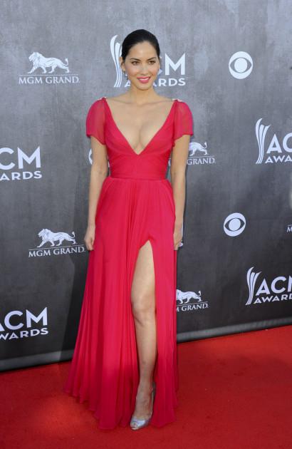 Olivia Munn at the ACMs