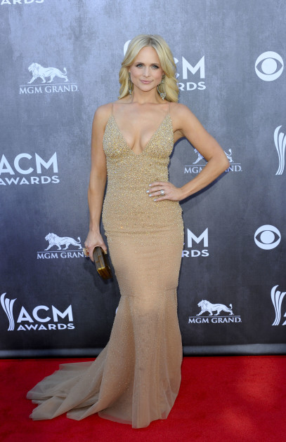 Miranda Lambert at the ACMs