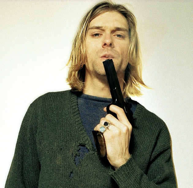 Kurt Cobain Gun Photo