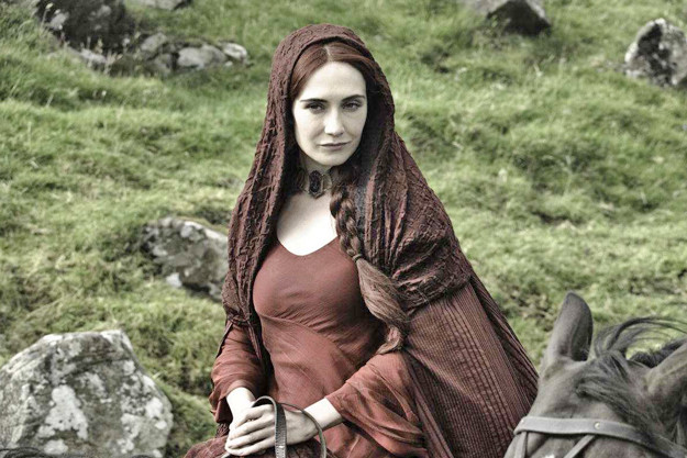 Carice outpost Houten as Melisandre Photo