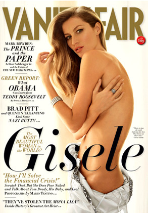 Gisele: Nude for Vanity Fair