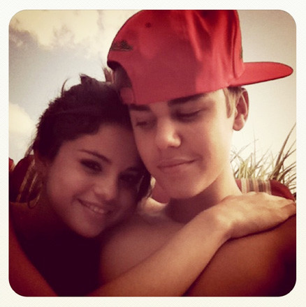 Selena and Justin Instagram