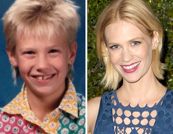 January Jones as a Kid