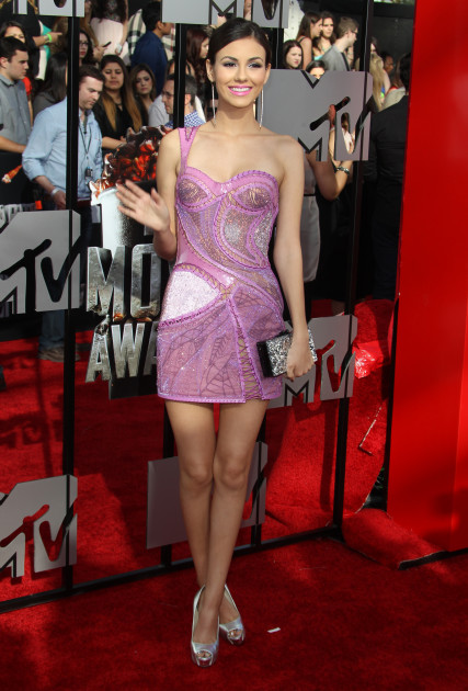 Victoria Justice at MTV Movie Awards